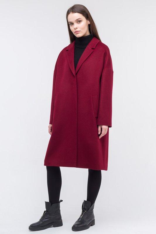 Oversized Bourgondische jas