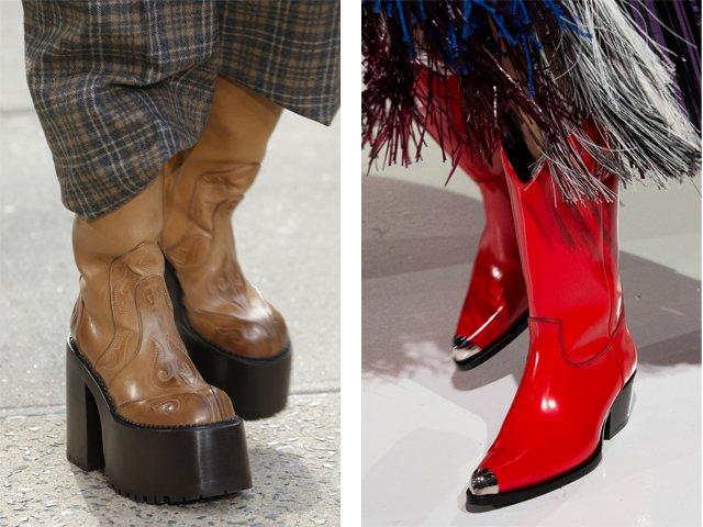 Madingi moteriški batai rudenį-žiemą: 2018 (nuotrauka)
