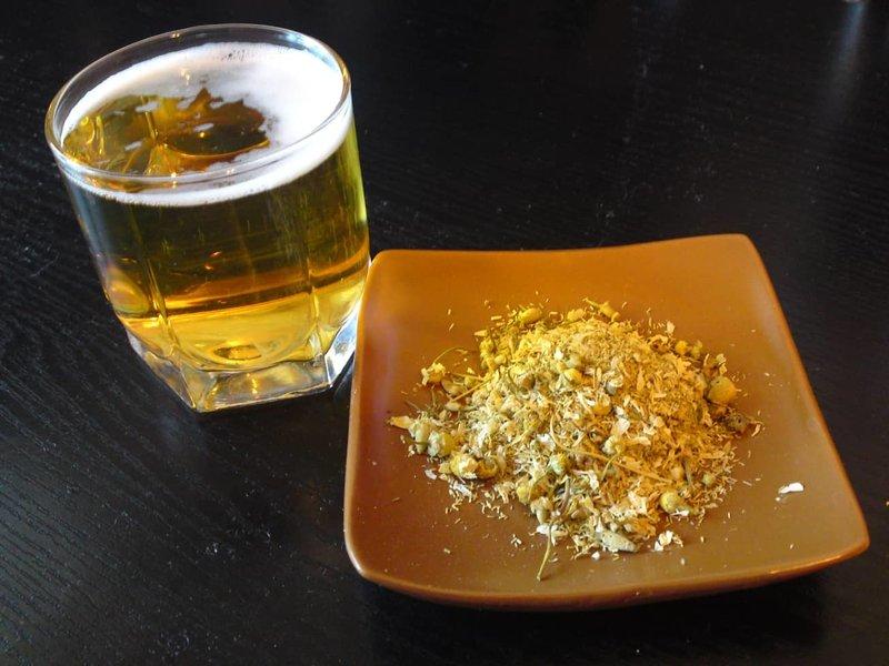 Ingrediënten voor biermasker