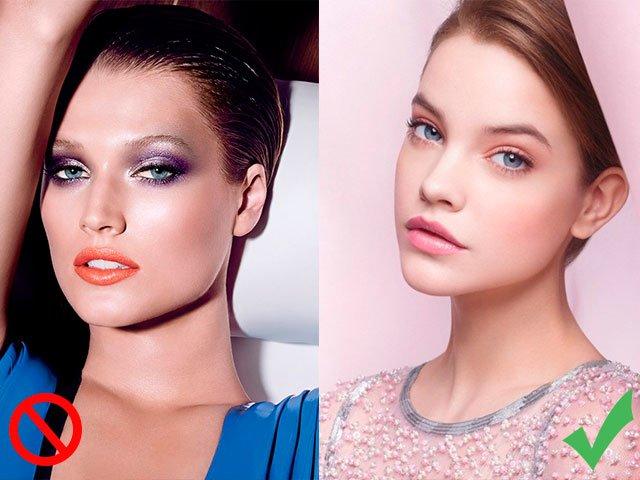 De juiste dag make-up