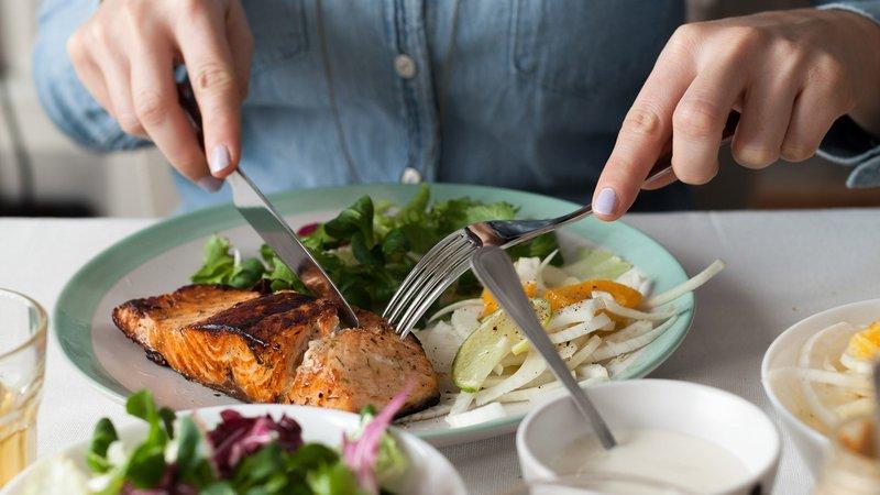 Eten volgens de berekening van het energieverbruik