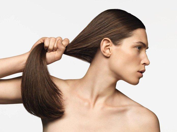 Verzwakte haarbehandeling