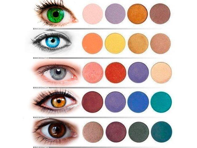 oogkleur make-up