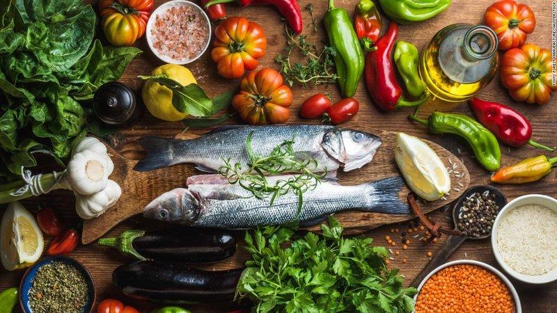 Gevarieerd uitgebalanceerd dieet