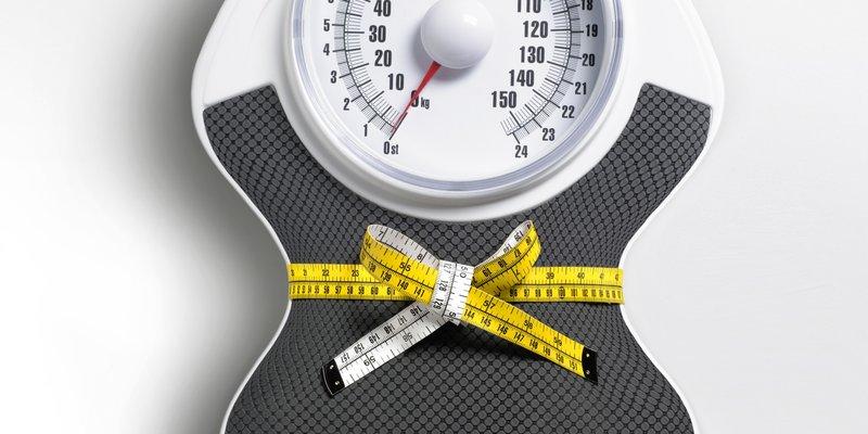 Gewichtsverliesresultaat op de weegschaal