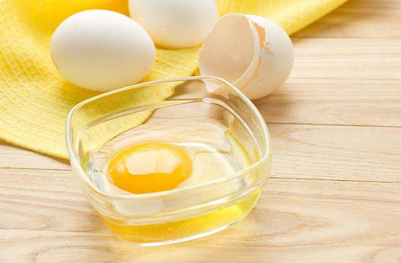 Eieren voor het reinigen van masker