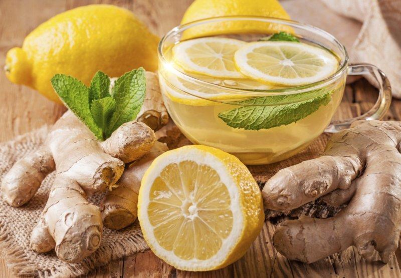 Thee met citroen en gember voor gewichtsverlies