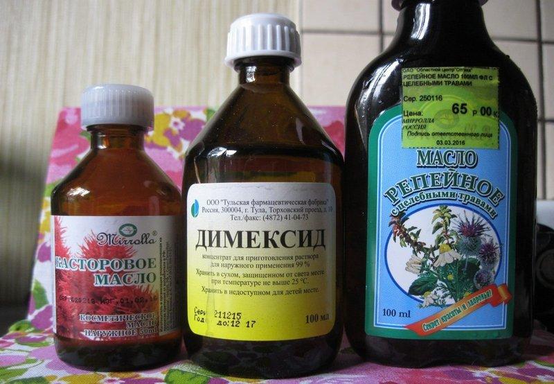 Dimexide en oliën
