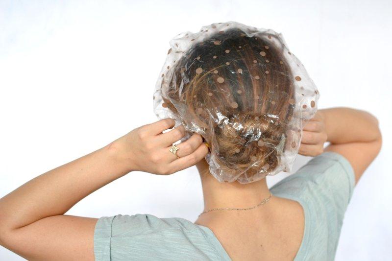 Hoed voor haarmaskers