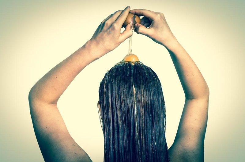 Haarmasker met ei