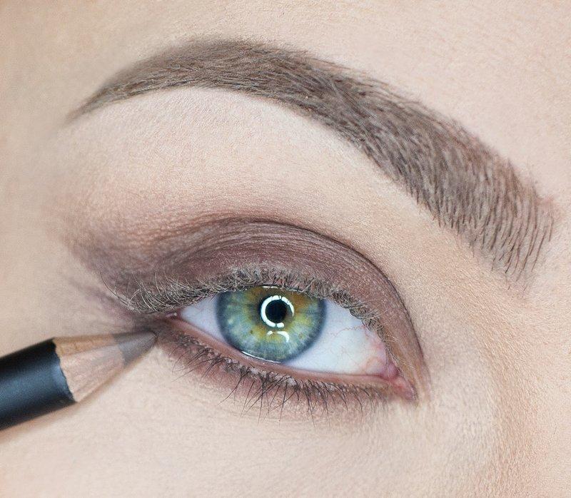 EYELINER onderste ooglid