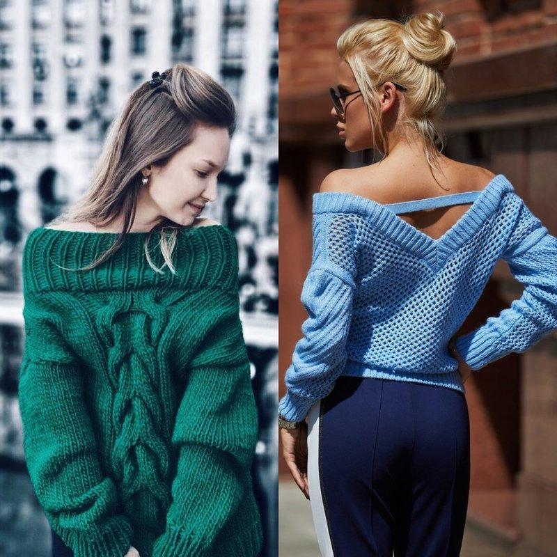 Originalūs megztinių modeliai