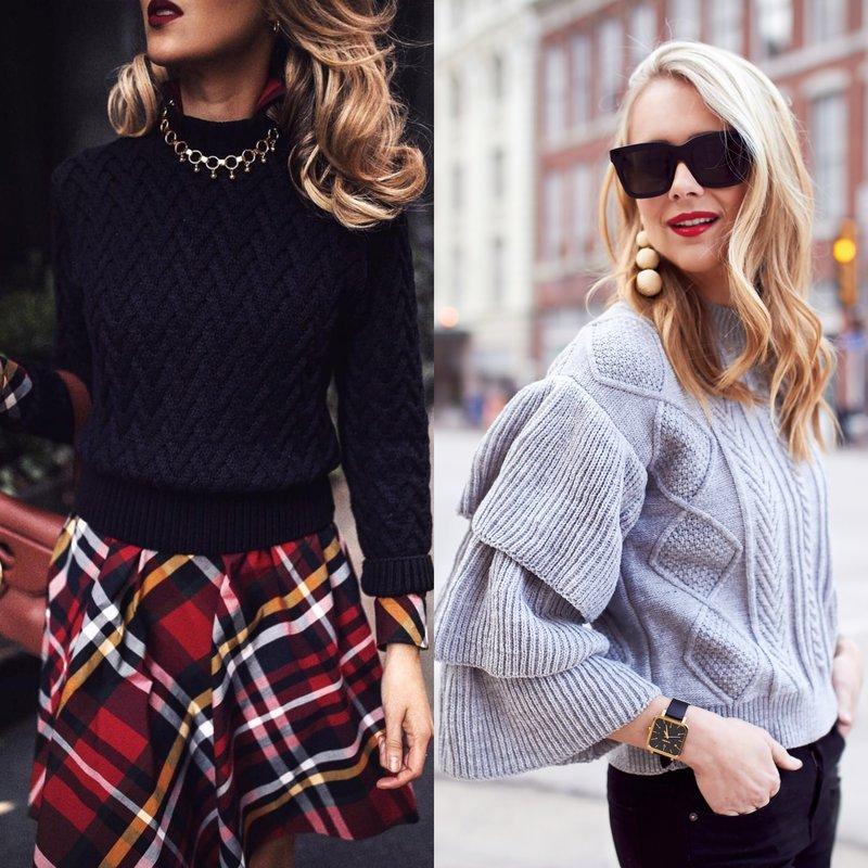 Elegantiški megztinių modeliai pavasariui