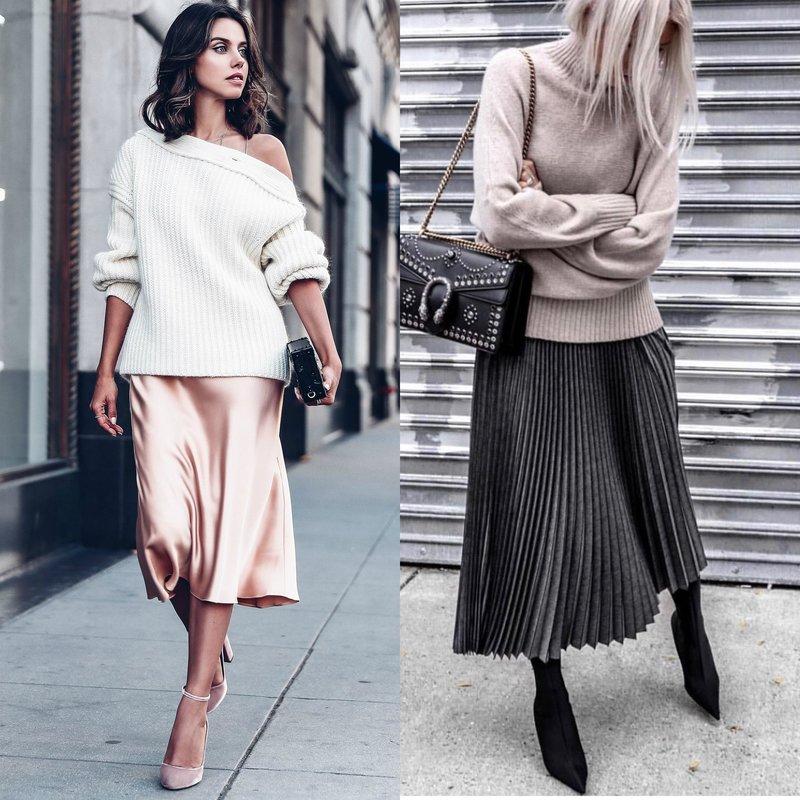 Pavasario sijonai: tendencijos ir nauji daiktai
