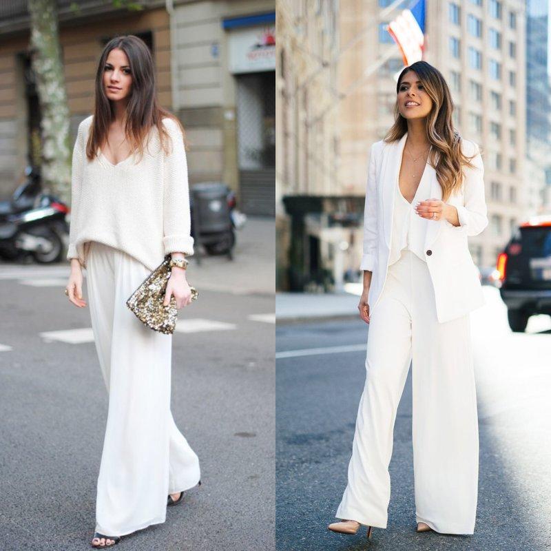 Pavasario kostiumas šviesiai baltas