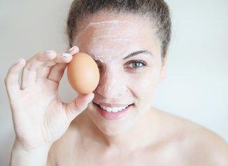 Eiwit gezichtsmasker