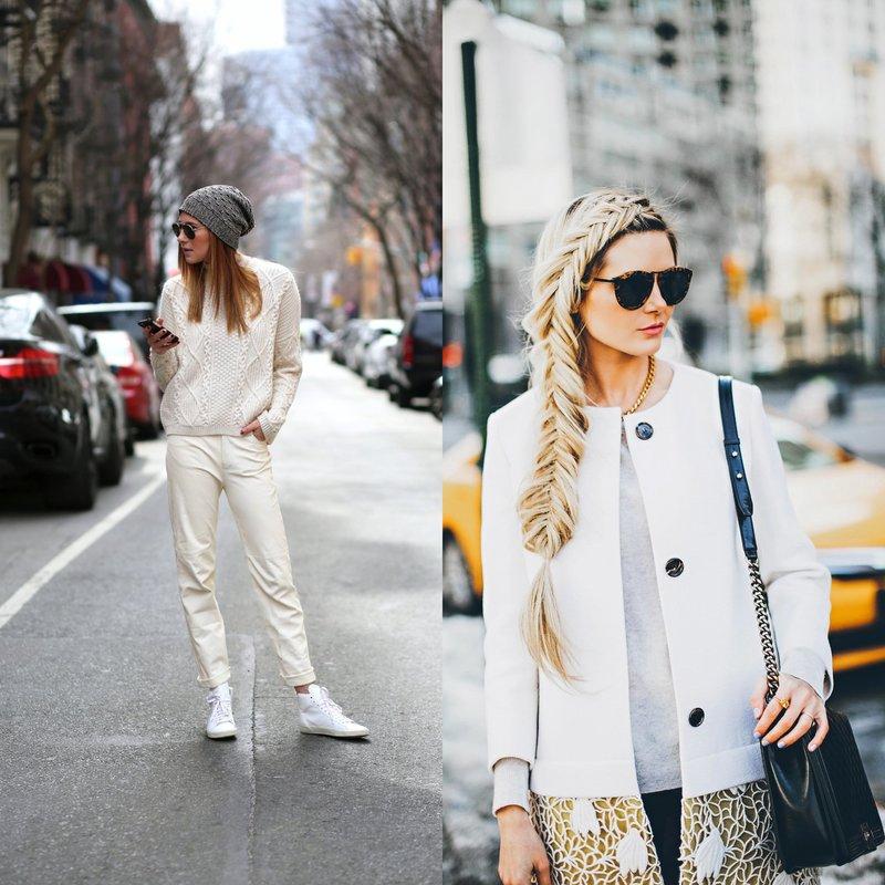 Stilingi balti lankai: pavasario-vasaros tendencijos