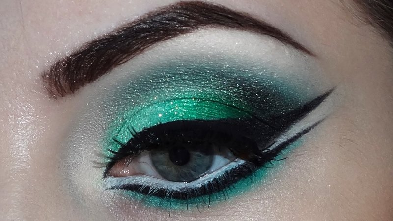Make-up voor groene ogen
