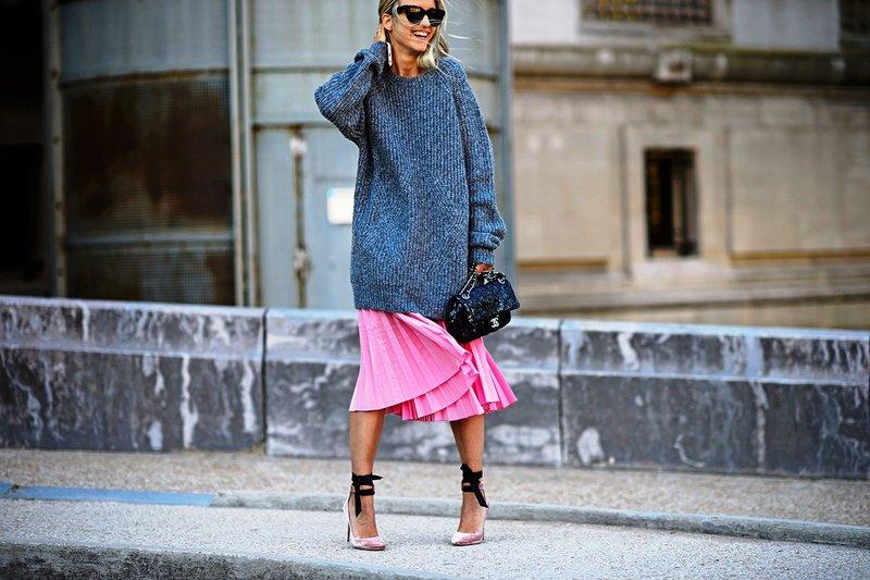 Negabaritinis megztinis: pavasario tendencija 2019 m