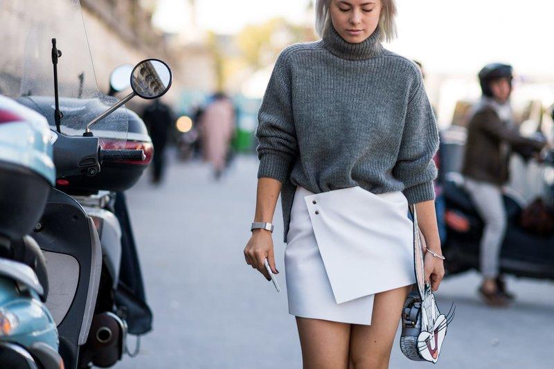 Pavasariškas žvilgsnis megztinyje