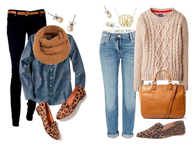 Leopard Loafer-patroonopties