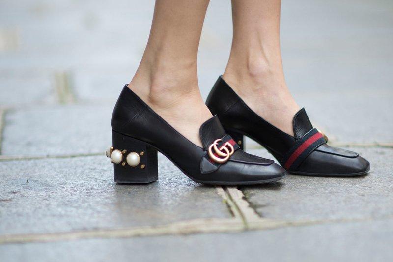 Loafers met hakken