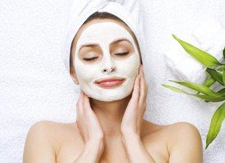 Whitening gezichtsmasker