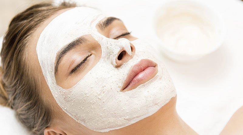 Masque hydratant à l'amidon