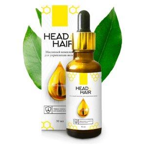 Aliejaus kompleksas plaukams galvos ir plaukams stiprinti