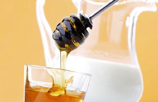 Kefir en honing