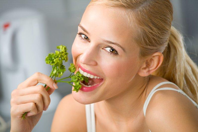 Lekkere en voedzame peterselie