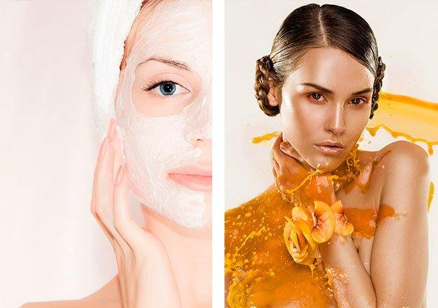 Kalmerende gezichtsmasker thuis