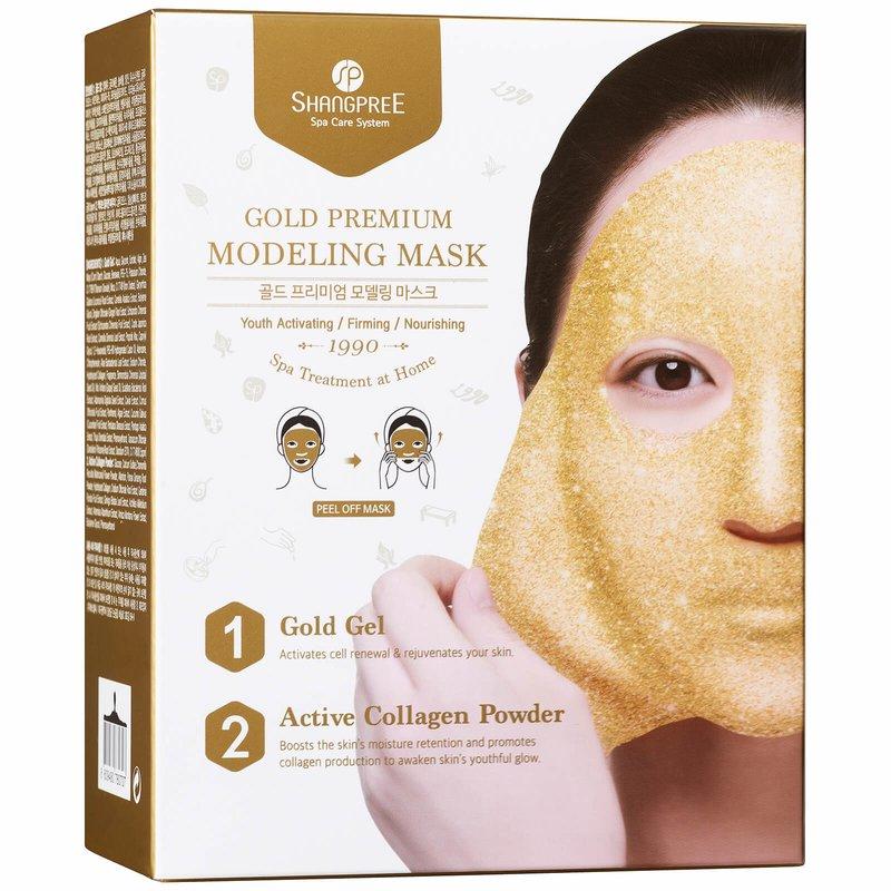 Gouden collageenmasker