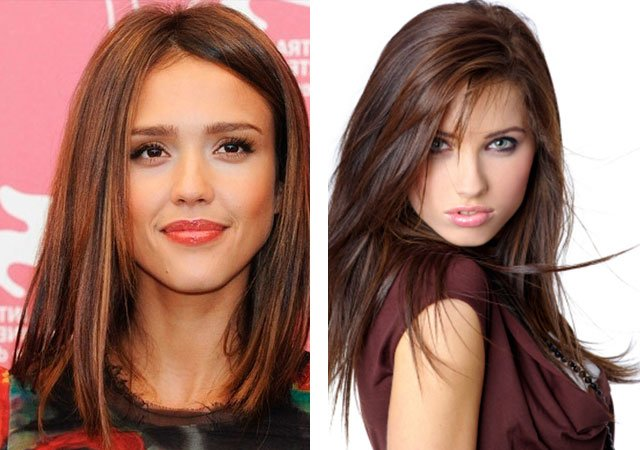 Kokia ši plaukų spalva yra brunetė ir rudaplaukė?