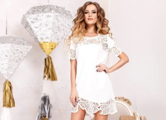 Robes blanches à la mode 2019