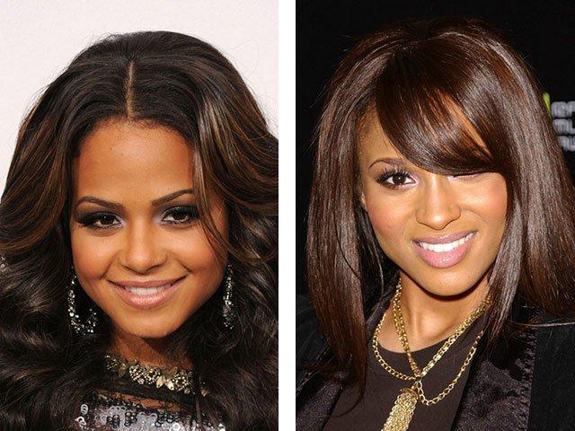 Mooie haarkleur voor bruine ogen: trends, ideeën, foto's