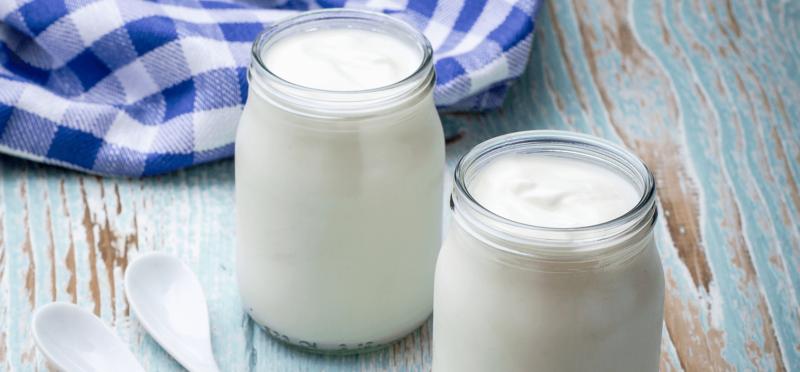 Yoghurt voor haarherstel