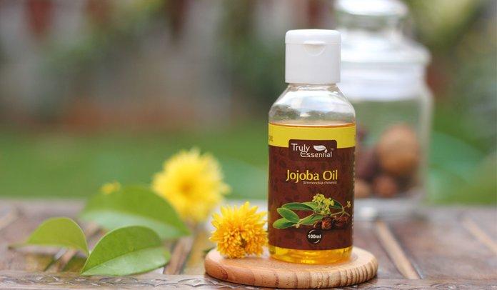 Jojoba-olieflessen