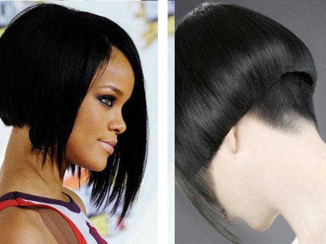 Rambut Potong Bob Untuk Foto Rambut Pendek Dan Sederhana