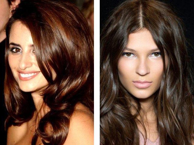 Graži ruda plaukų spalva nuotrauka