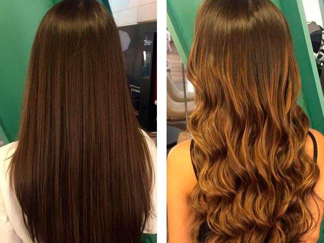 Ryškių plaukų nuotrauka