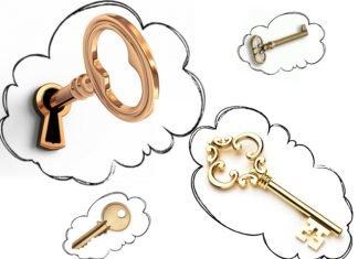 Droom over de sleutels