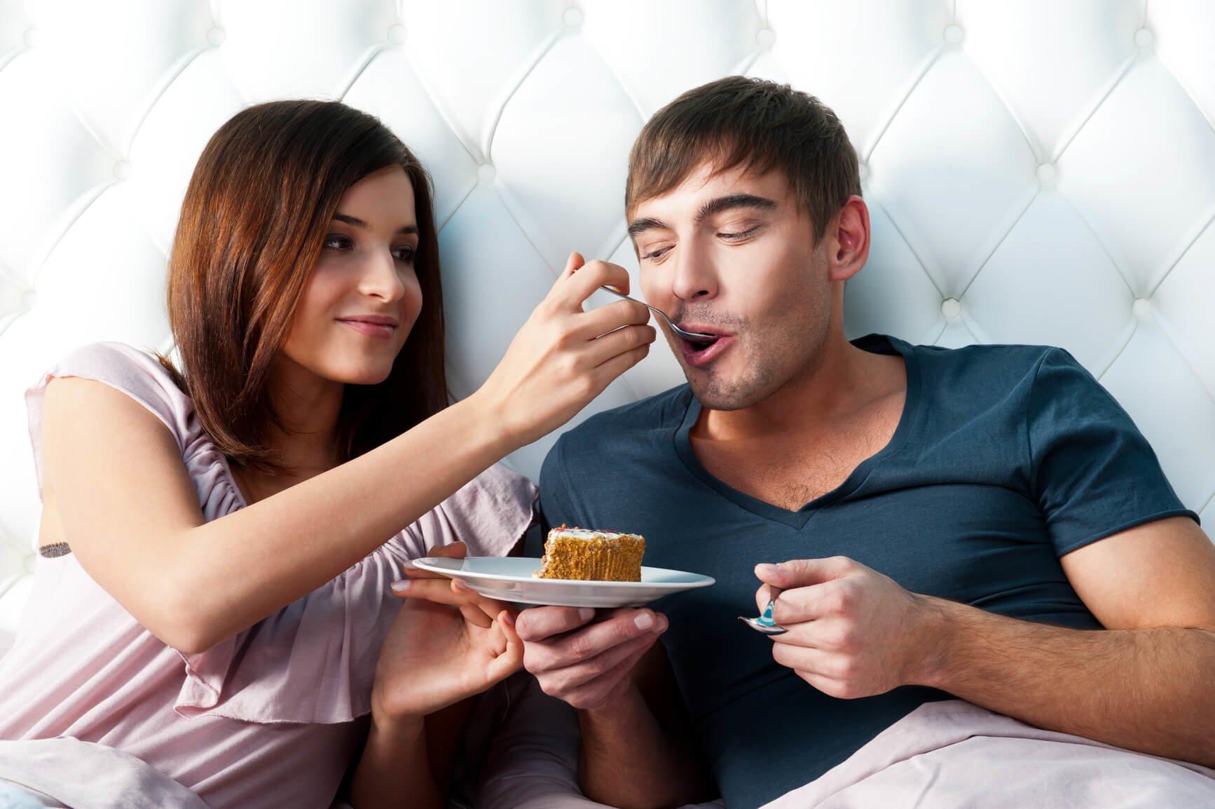 Love spell op eten