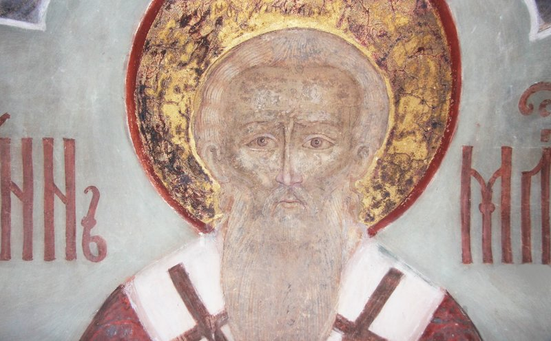 Johannes de barmhartige beschermheer van handelaars