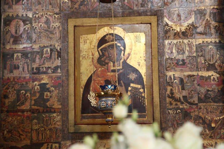 Icoon van Onze-Lieve-Vrouw van Theodore