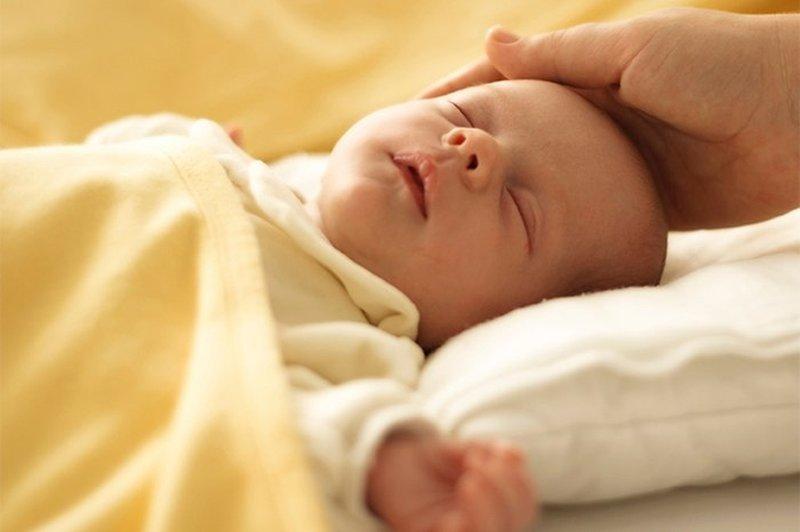 Samenzwering bij een baby