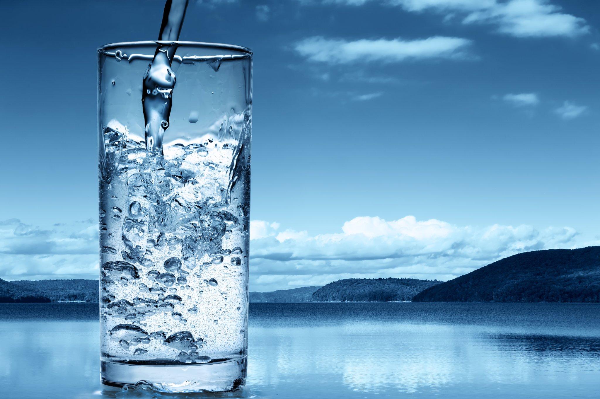Afslankingsritueel met water