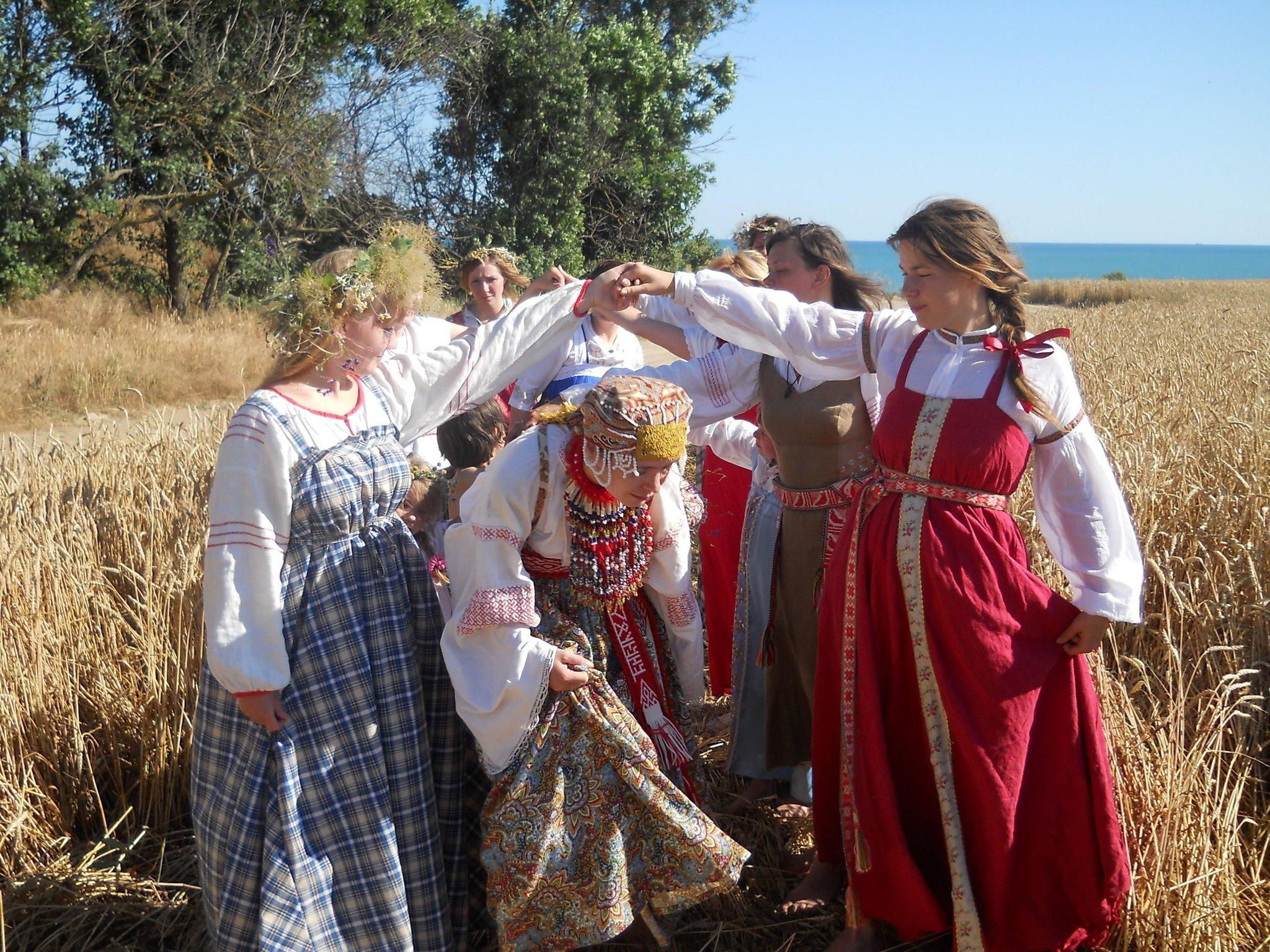 Slavische rituelen van boze geesten