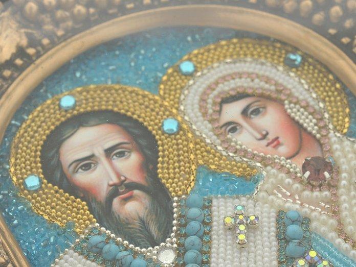 Heilige Martelaren Cyprian en Ustinha