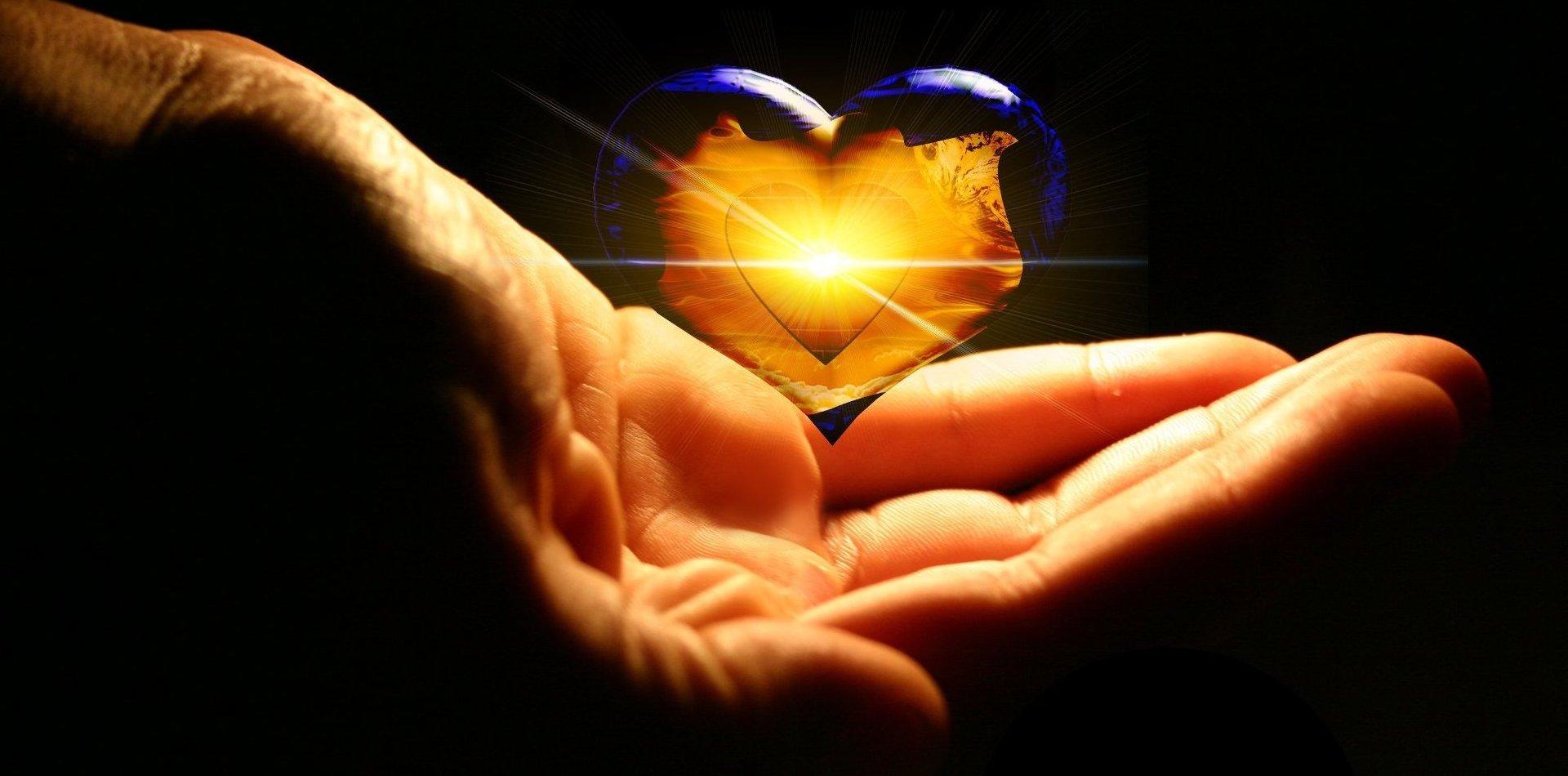 Liefdespreuk in de verte